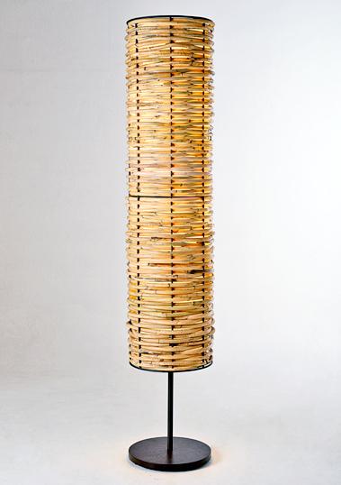 long brass javar piment rouge lighting