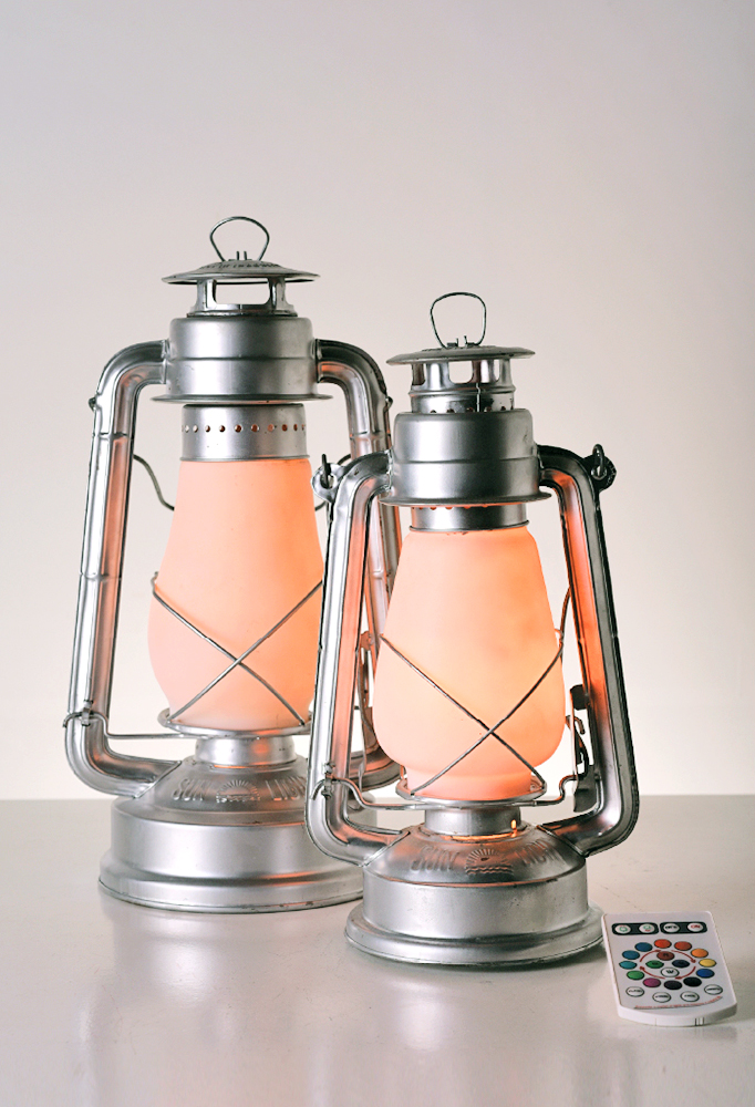 Piment Rouge Lighting Bali - Storm Lantern Lamps