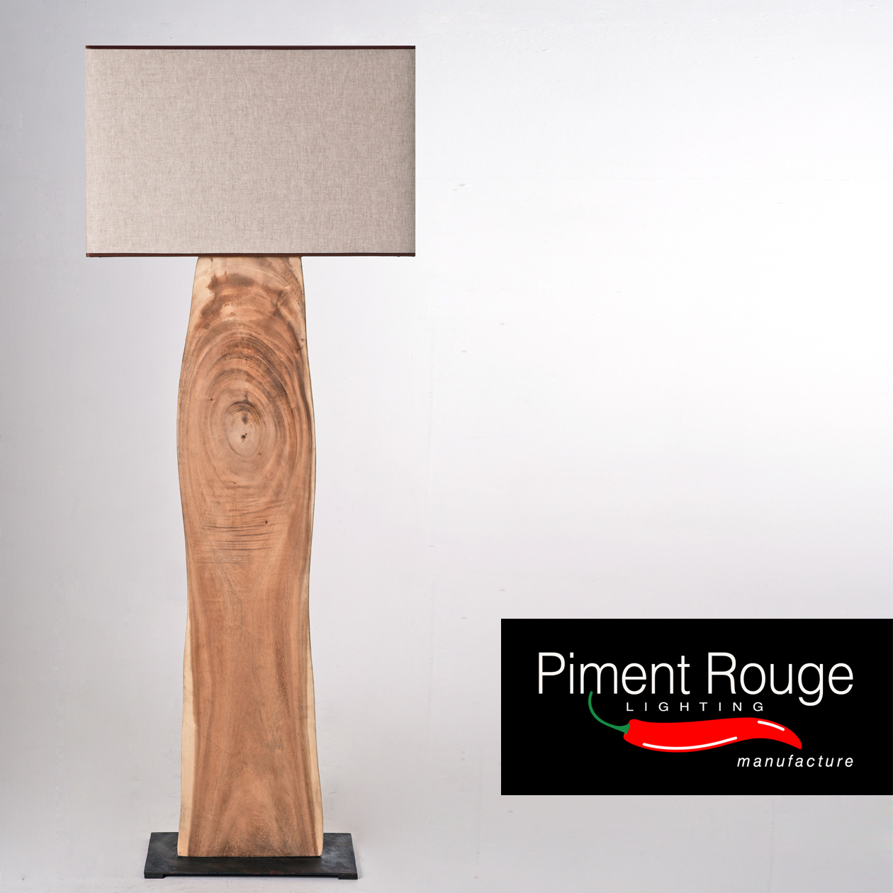 silvano wood slab floor lamp wood slab lamp stand by piment rouge lighting bali