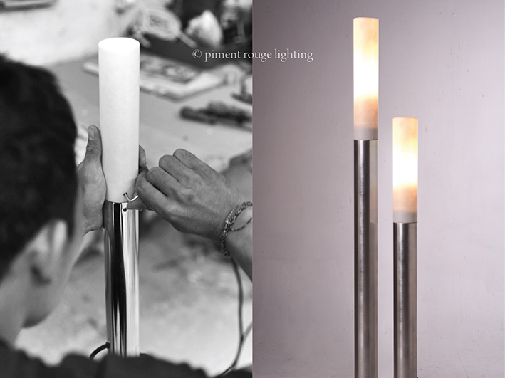 Outdoor LED Sticks by Piment Rouge Lighting Manufacturer Bali