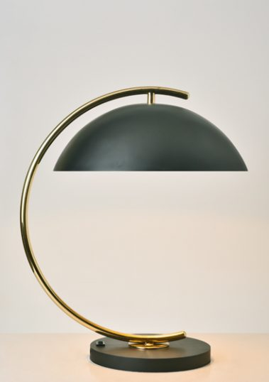 Brass Deauville Table Lamp by Piment Rouge Lighting Bali