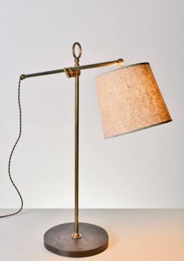 Large Newton Desk Lamp by Piment Rouge Lighting Bali