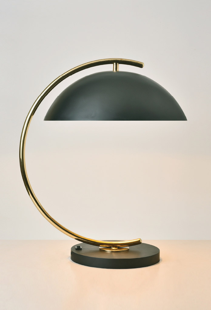 Piment Rouge Lighting Bali - Deauville in Brass