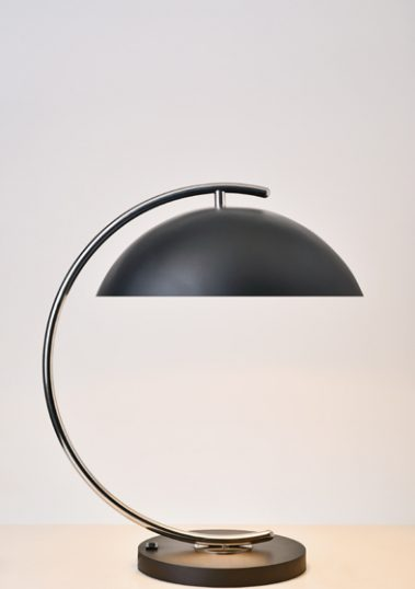 Stainless Steel Deauville Table Lamp by Piment Rouge Lighting Bali