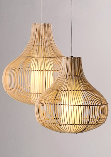 Bawang Pendants by Piment Rouge Lighting Bali