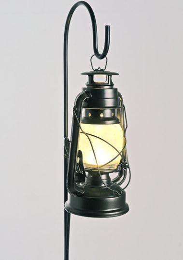 Black Standing Storm Lantern by Piment Rouge Lighting Bali