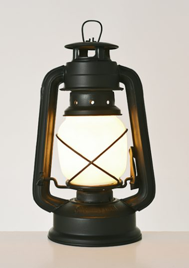 Black Storm Lantern by Piment Rouge Lighting Bali