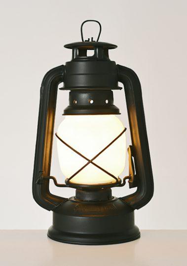 Black Storm Lantern by Piment Rouge Lighting Bali