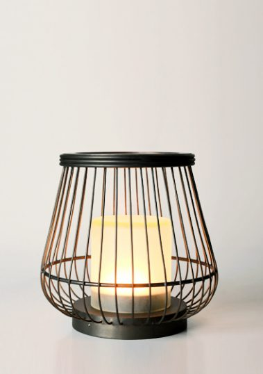 Brass Basket Lamp by Piment Rouge Lighting Bali