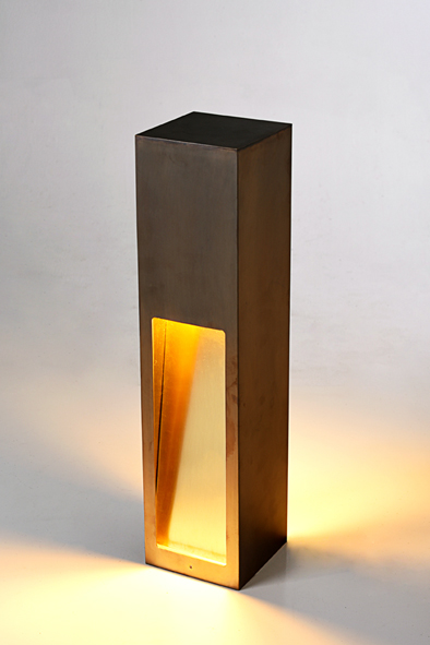 Brass Frame Lamp by Piment Rouge Lighting Bali