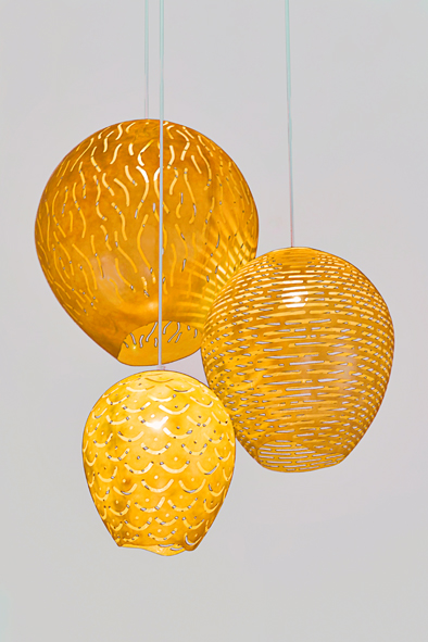 Cocoon Pendants by Piment Rouge Lighting Bali