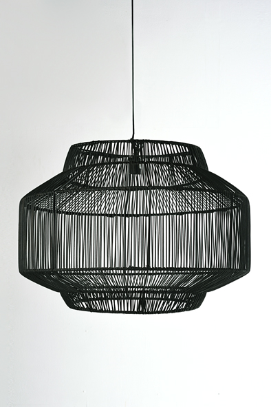 Decorative Rattan Pendant by Piment Rouge Lighting Bali