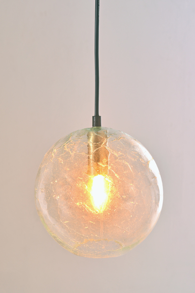 Glass Ball Pendant by Piment Rouge Lighting Bali - 1