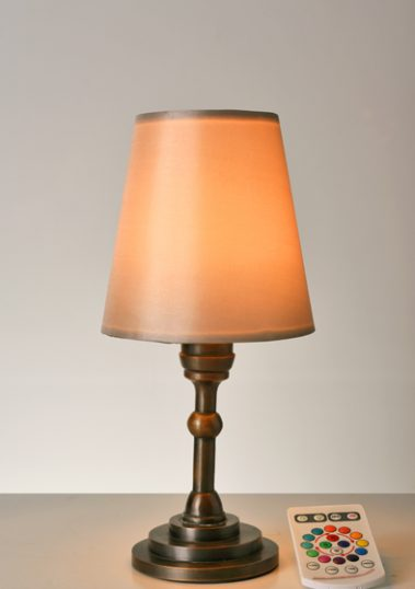 Mini Copper Lamp by Piment Rouge Lighting Bali - 1