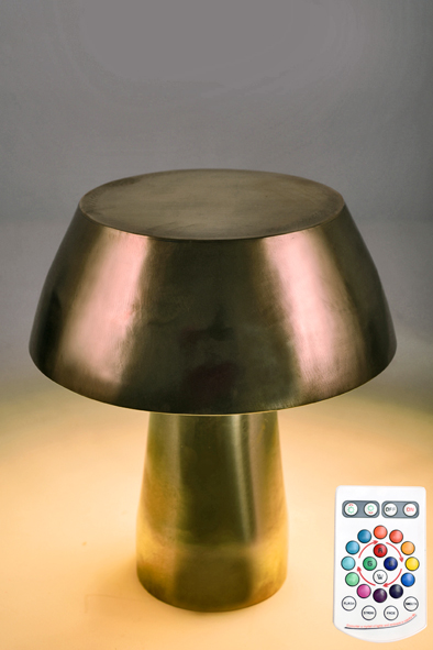 Mushroom Lamp by Piment Rouge Lighting Bali - 3