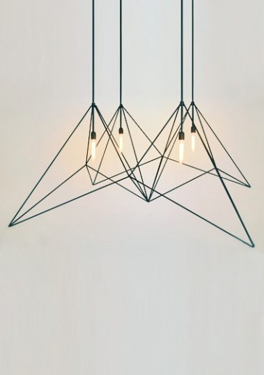Origami Pendant by Piment Rouge Lighting Bali