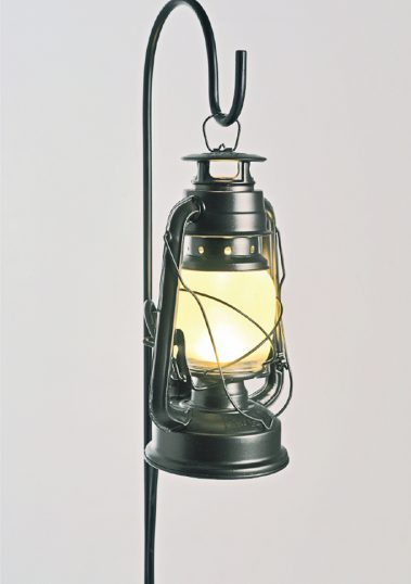 Piment Rouge Lighting Bali - Black Standing Storm Lantern