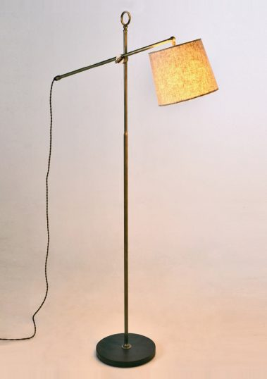Piment Rouge Lighting Bali - Newton Standing Lamp in Natural Finish