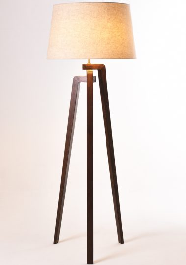 Piment Rouge Lighting Bali - Ottori Floor Lamp with New Lampshade
