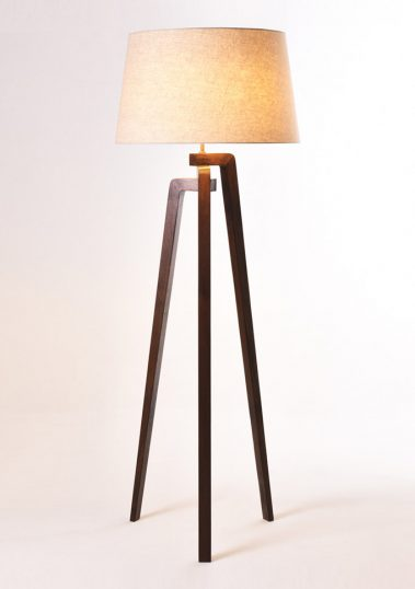 Piment Rouge Lighting Manufacturer Bali - Ottori Standing Lamp with New Lampshade