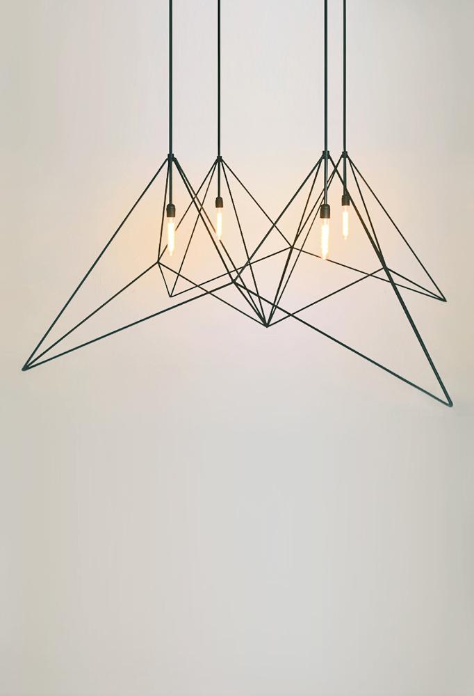 Piment Rouge Lighting - Origami Pendant