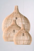 Rattan Drop Pendants by Piment Rouge Lighting Bali