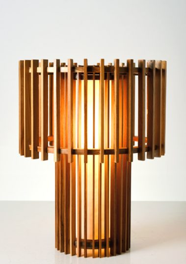 Shinto Deck Floor Lamp by Piment Rouge Lighting Bali