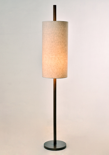 Teakwood Tomcat Floor Lamp by Piment Rouge Lighting Bali