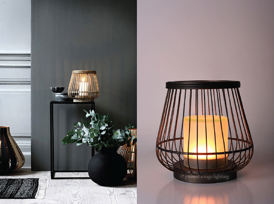 Brass Basket Lamp by Piment Rouge Lighting Bali - Blog