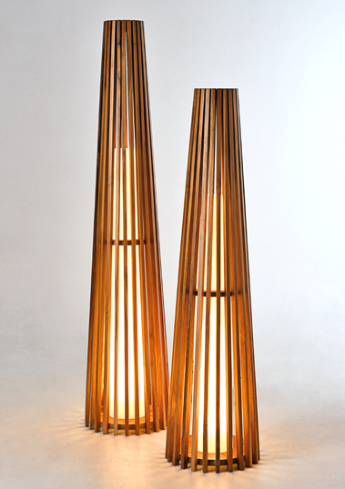 Costello Floor Lamp by Piment Rouge Lighting Bali
