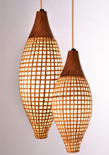 Piment Rouge Lighting Bali - Chrysalis Pendants