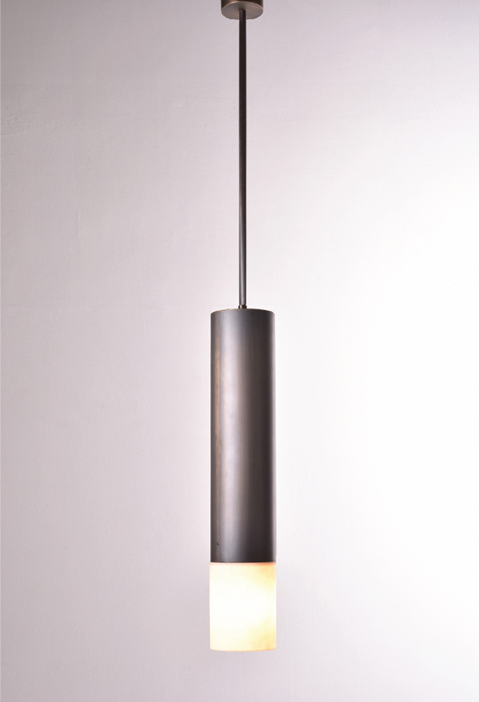 Piment Rouge Lighting Bali - Brass Tube Pendant