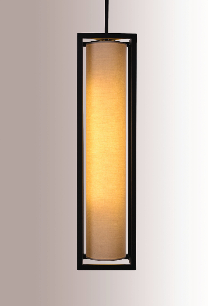 Piment Rouge Lighting Bali - Cyllindrical Pendant