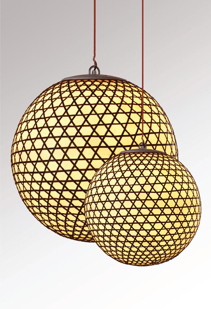Piment Rouge Lighting Bali - Hanging Resin Balls