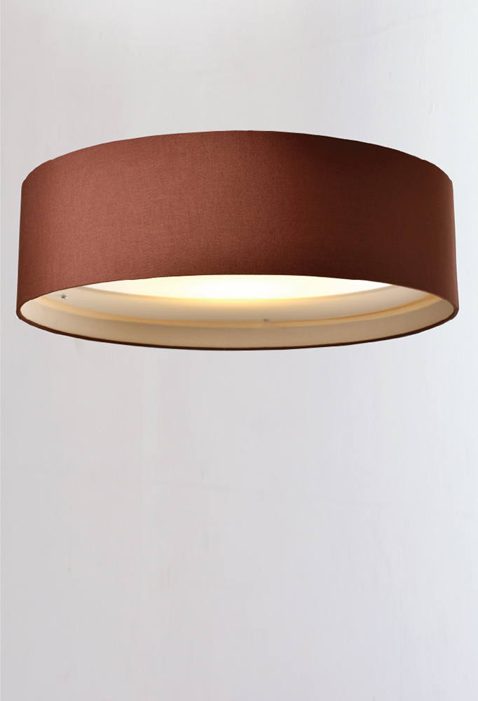 Piment Rouge Lighting - Round Shade Ceiling Lamp