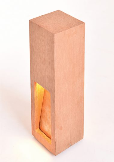 Piment Rouge Lighting Bali - Wood Frame Lamp