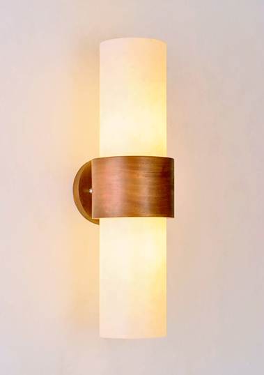 Resin Sokar Wall Sconce by Piment Rouge Lighting Bali