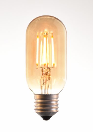 130-AK LED Filament Bulb 40W 2500K E27 by Piment Rouge Lighting Bali