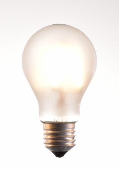 a-60 LED filament bulbs 2, 4, 6, 8 watt 2700K warm white 220V E27 frosted by piment rouge lighting bali