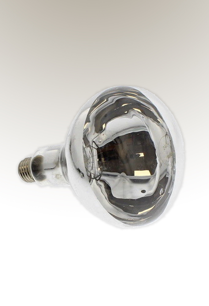 infrared heating bulb 275W by piment rouge lighting bali