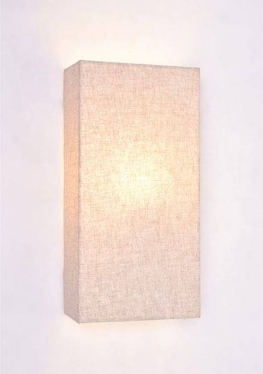 Piment Rouge Lighting Bali - Full Linen Sconce