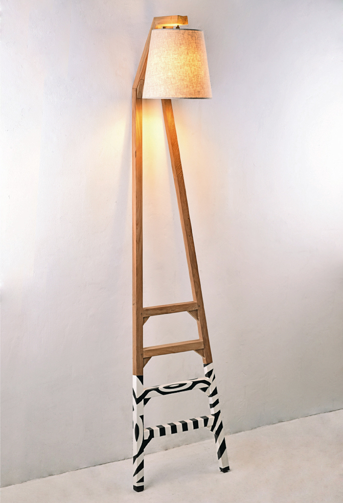 Piment Rouge Lighting Bali - Ladder Lamp