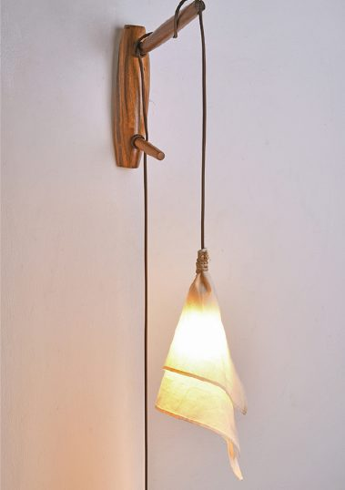 Piment Rouge Lighting Bali - Rustic Suspended Wall Lamp
