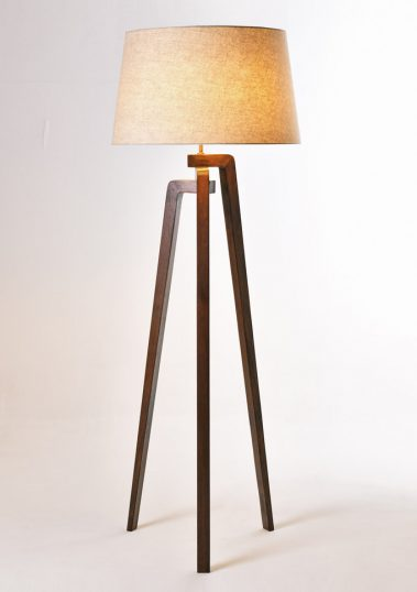 Piment Rouge Lighting Bali - Ottori Standing Lamp in Coffee Brown Finish