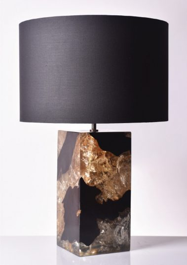 Piment Rouge Lighting Bali - Lewis table lamp in black