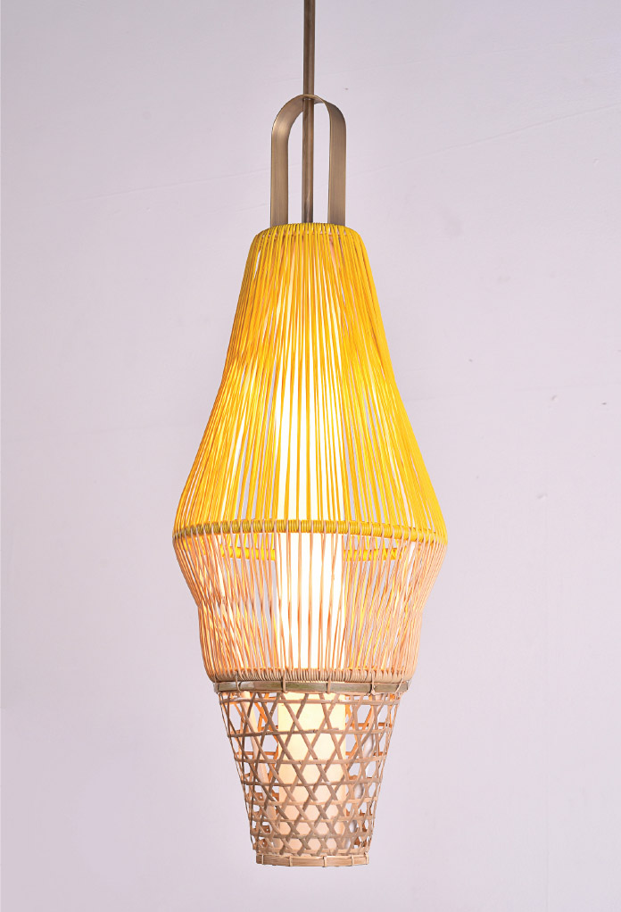 Piment Rouge Lighting Bali - Bahia Pendant Lamp