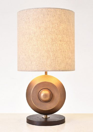 Piment Rouge Lighting Bali - Gong Table Lamp