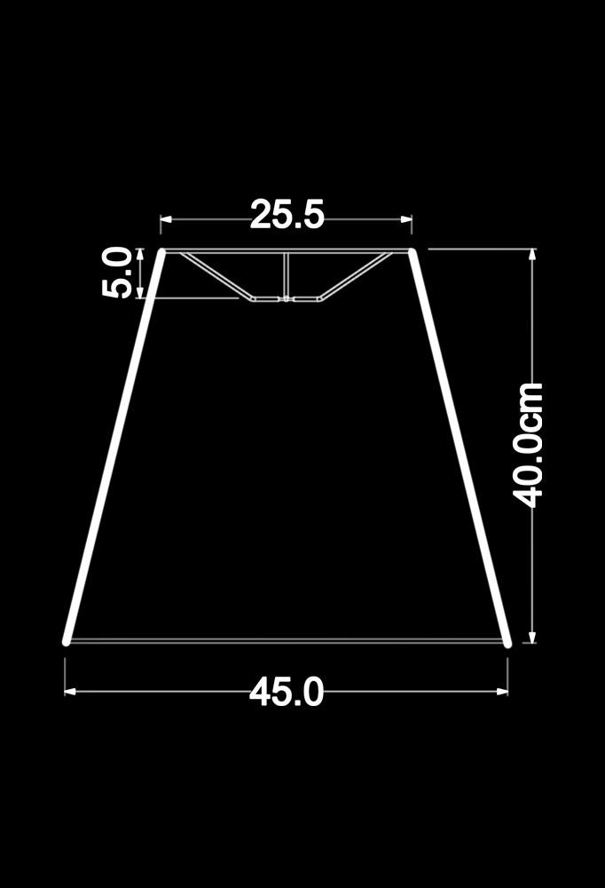 Piment Rouge Lighting Bali - Cora Pendant Lamp Technical Drawing