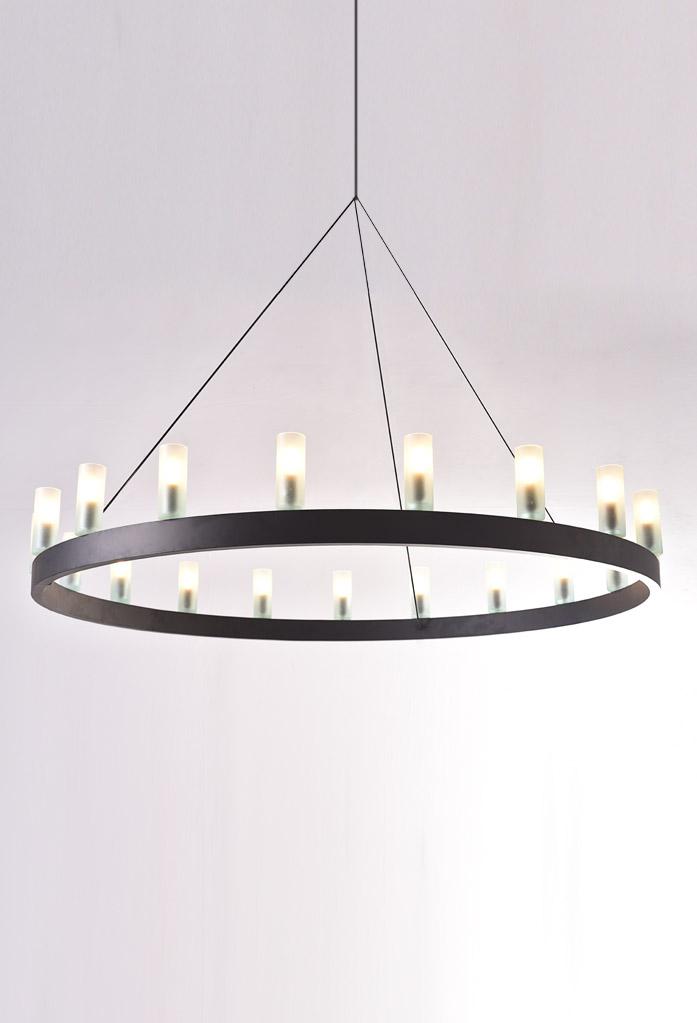piment rouge custom lighting manufacturer - kingman pendant chandelier