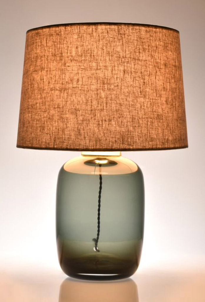 piment rouge custom lighting manufacturer - grey ellis table lamp